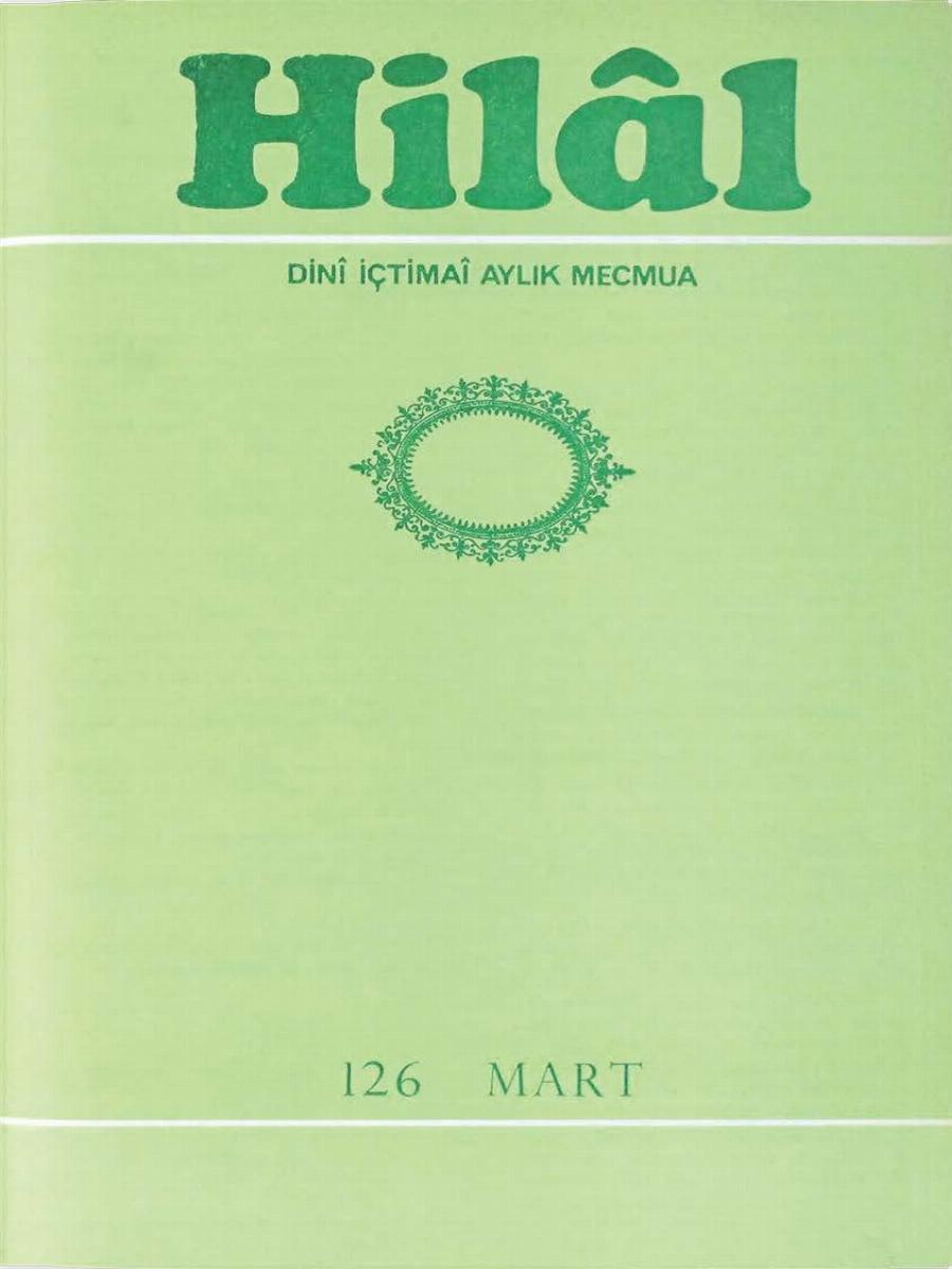 11. Cilt 126. Sayı