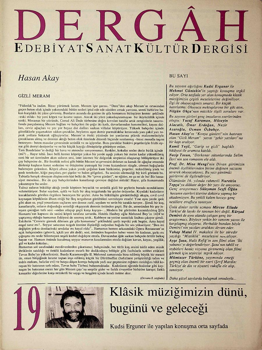 19. Sayı