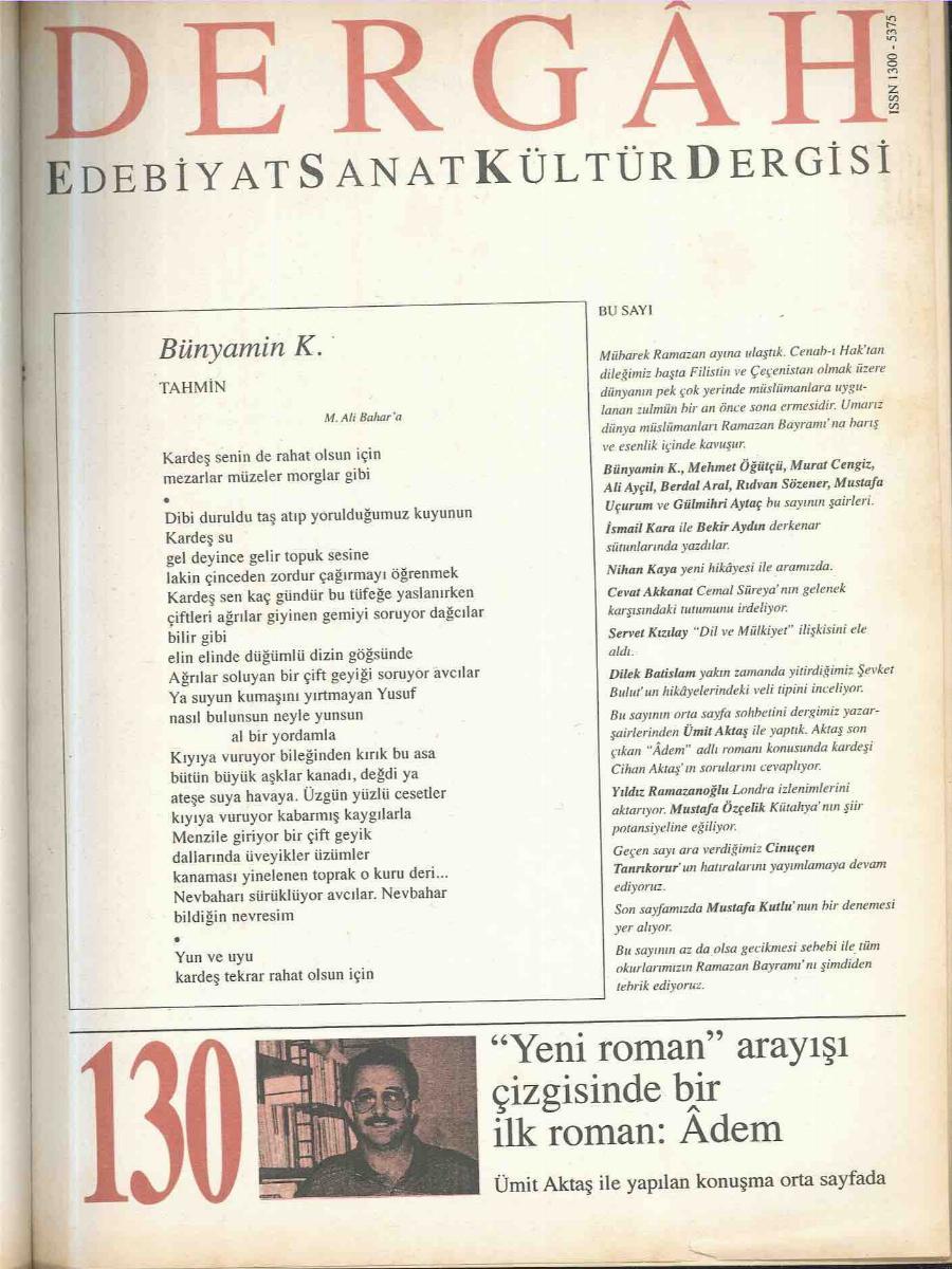 130. Sayı