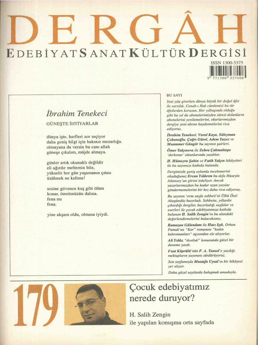 179. Sayı