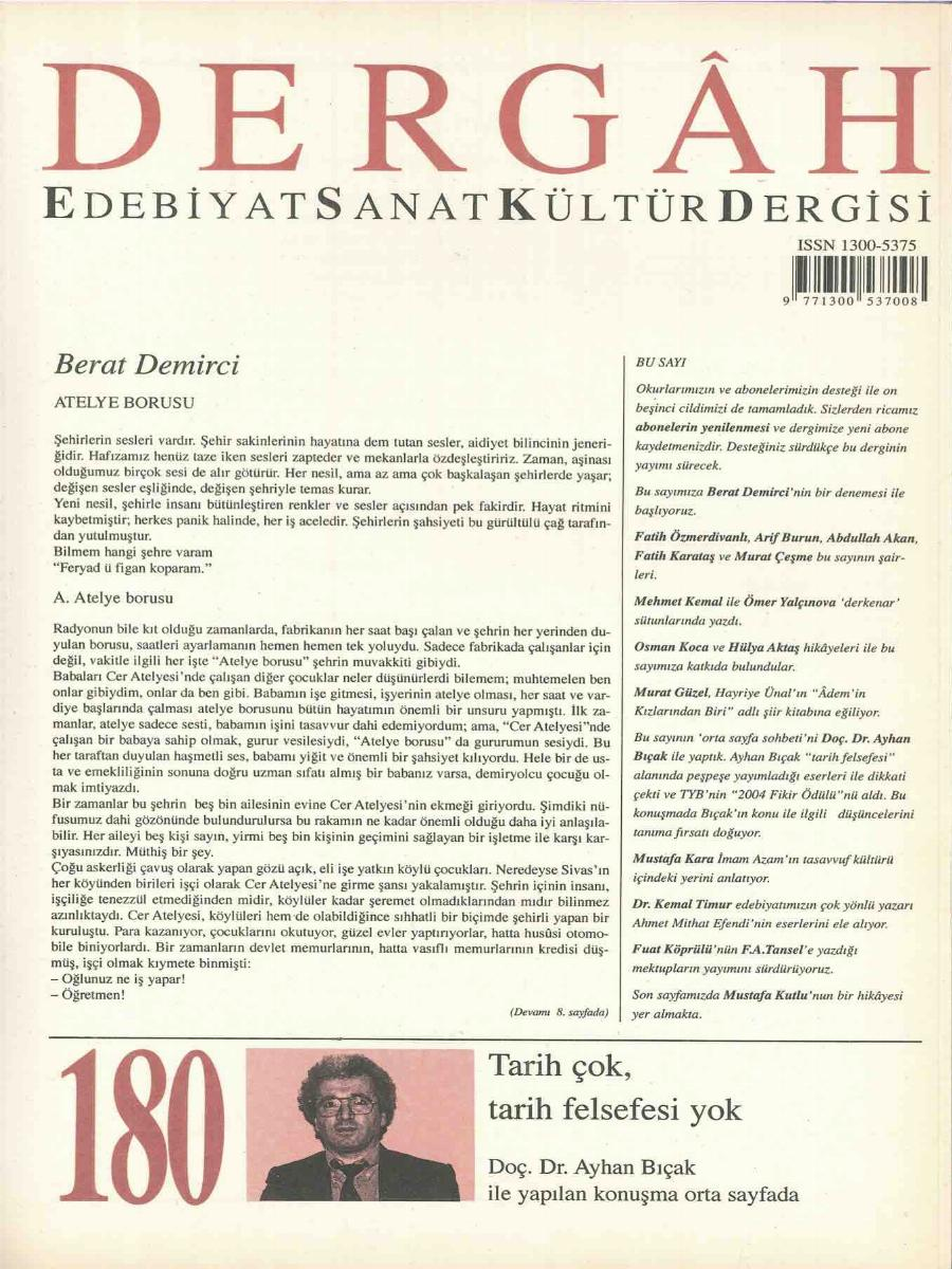 180. Sayı