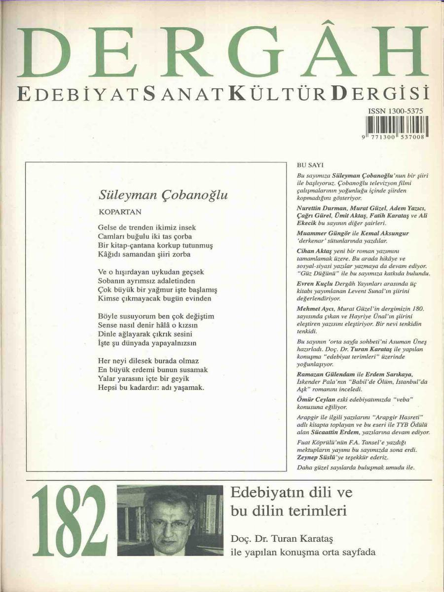 182. Sayı