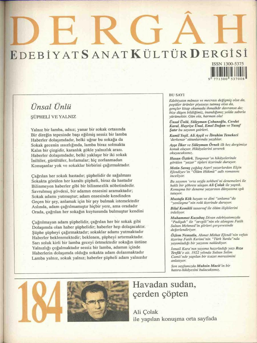 184. Sayı
