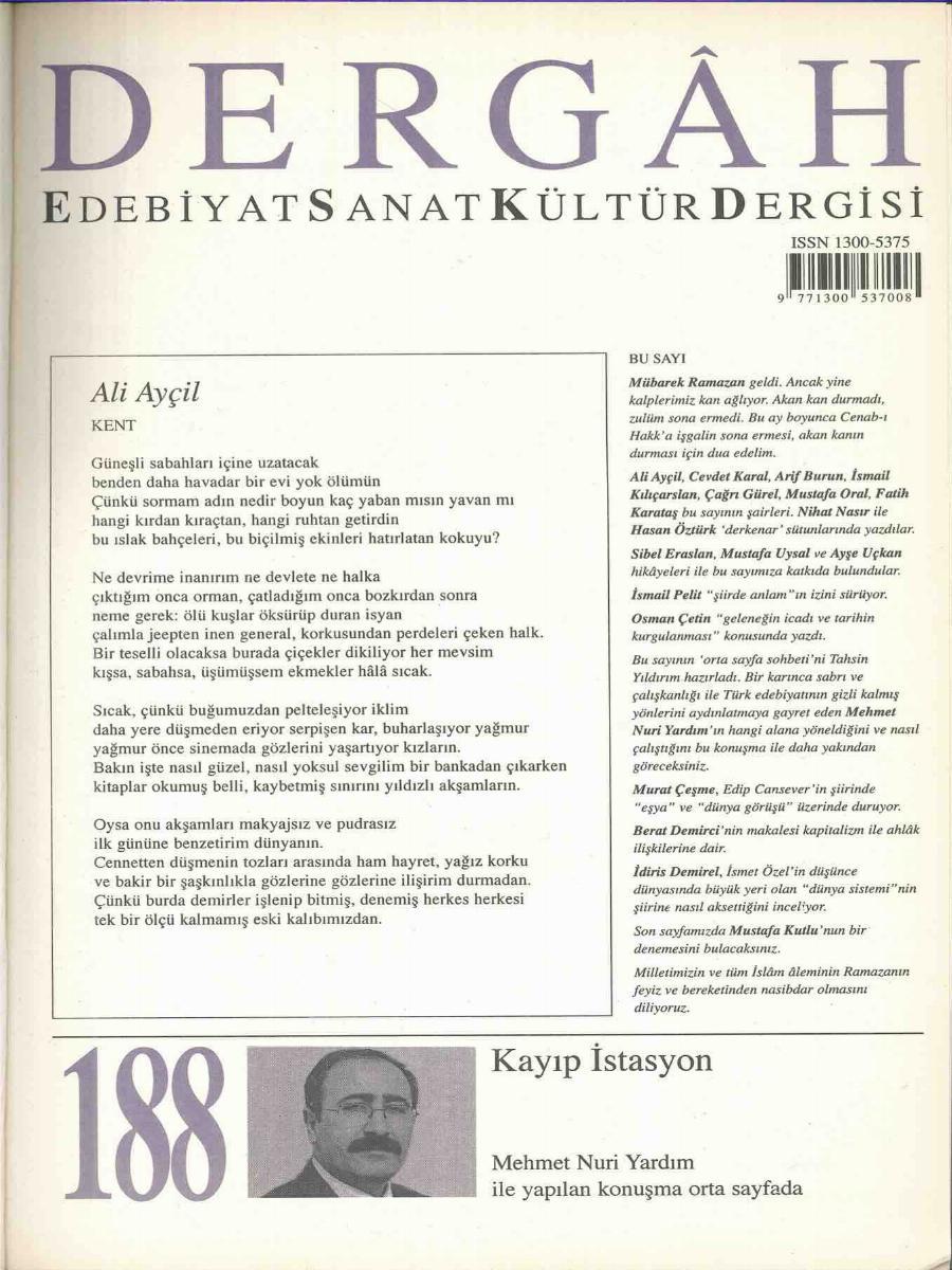 188. Sayı