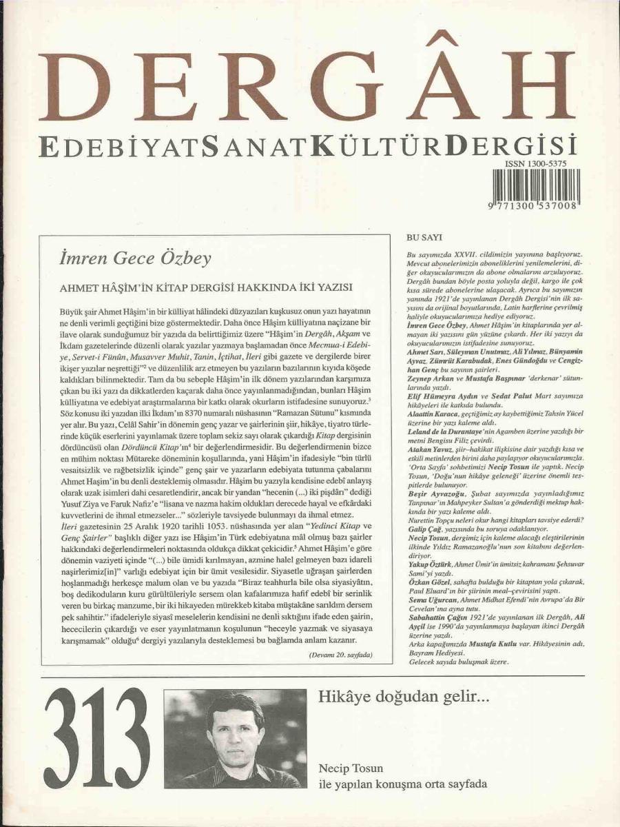313. Sayı