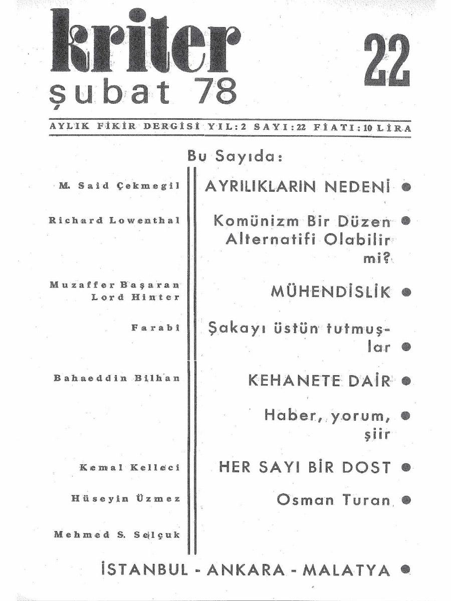 2. Cilt 22. Sayı