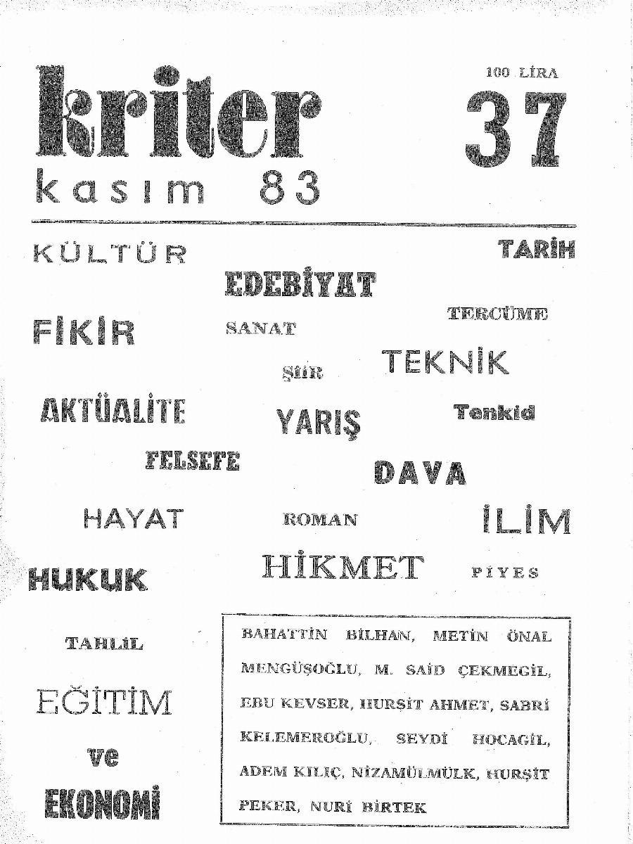 4. Cilt 37. Sayı
