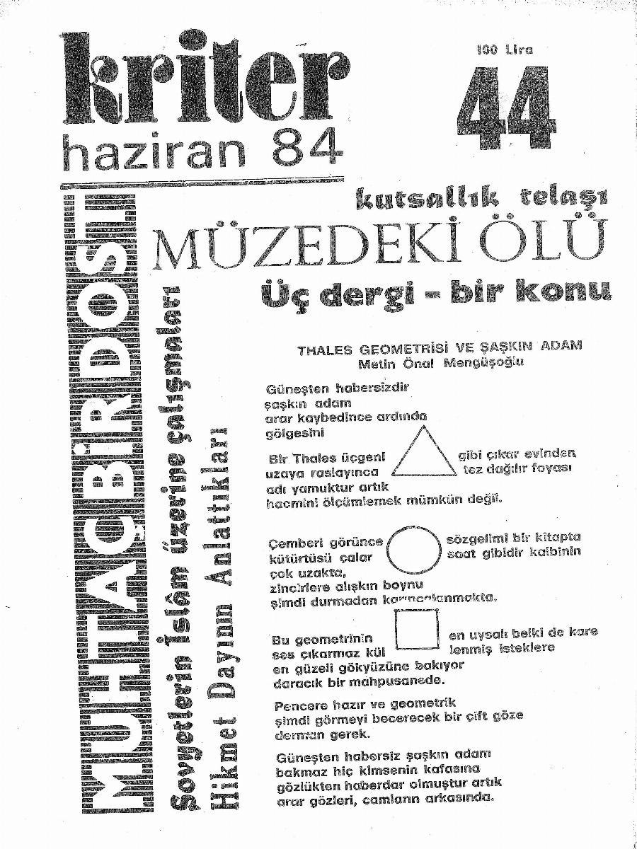 4. Cilt 44. Sayı