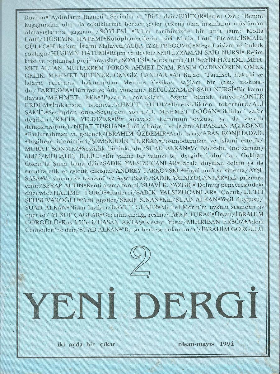 Yeni Dergi