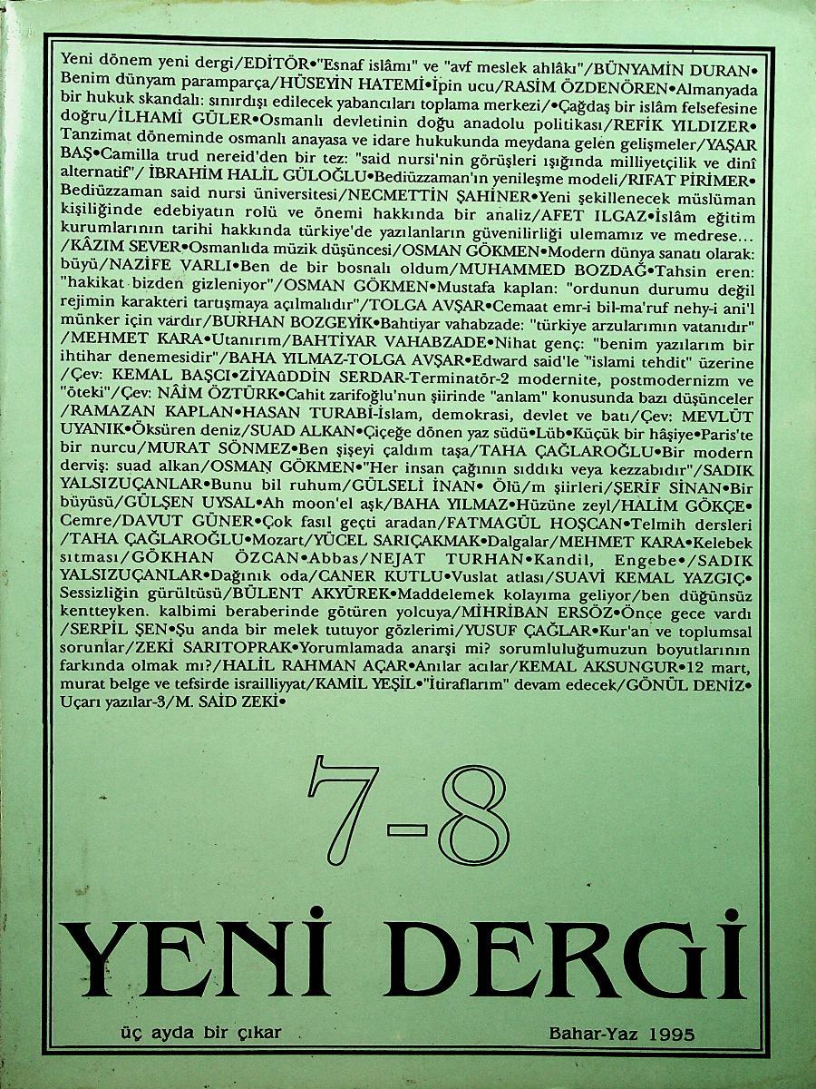 7-8. Sayı