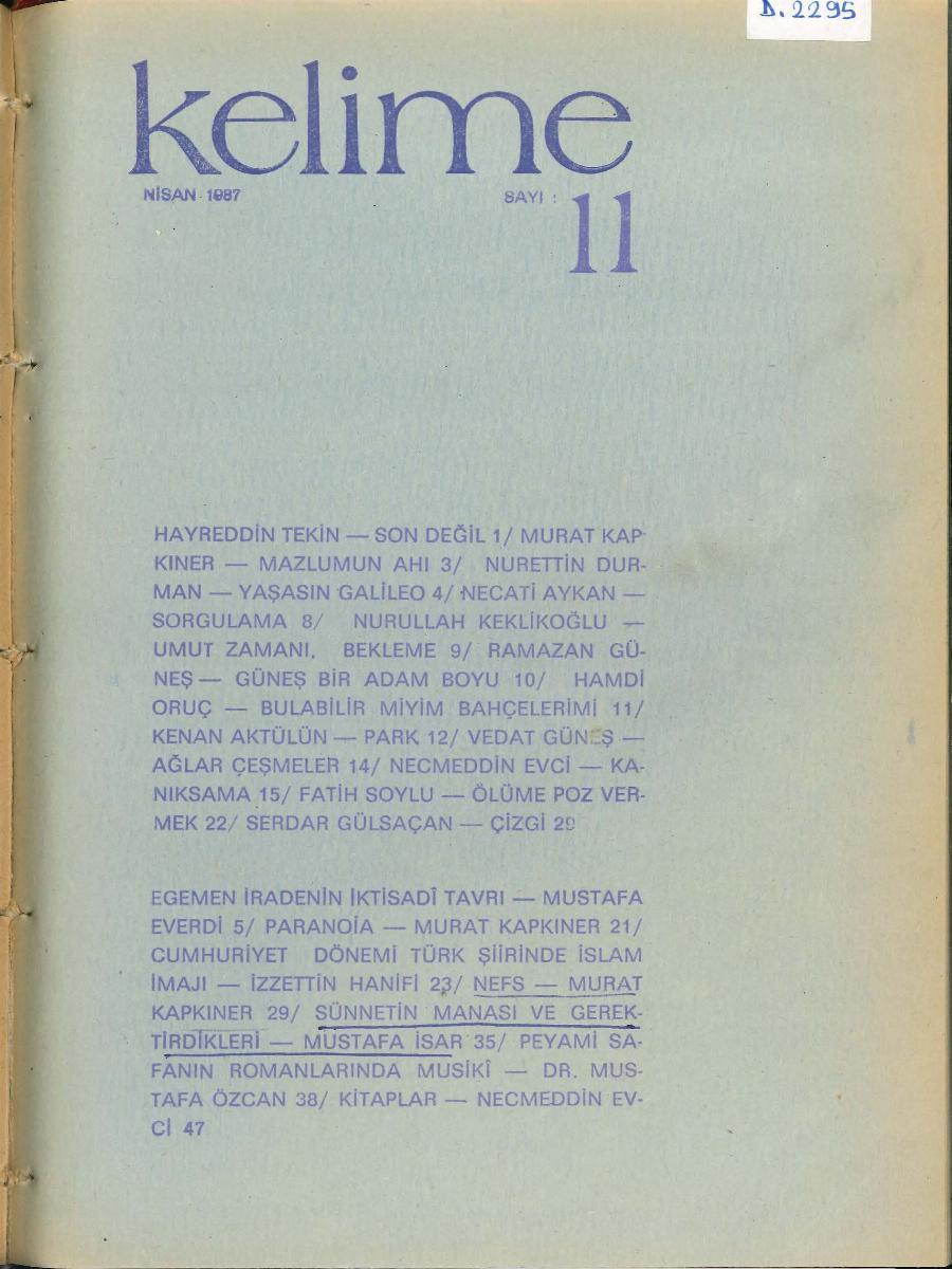11. Sayı