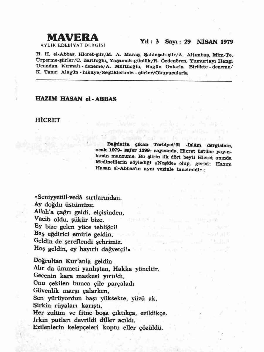 3. Cilt 29. Sayı