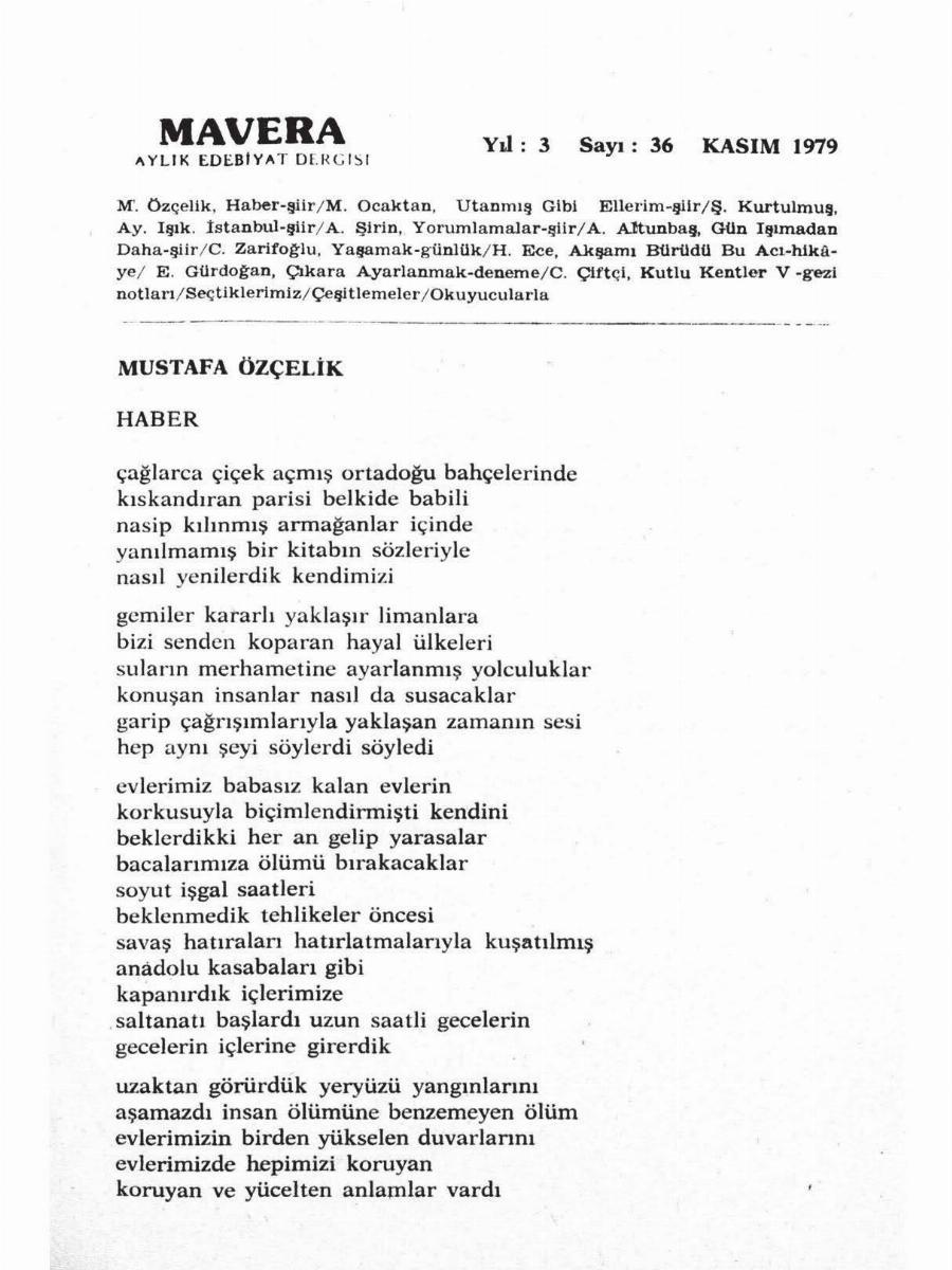 3. Cilt 36. Sayı