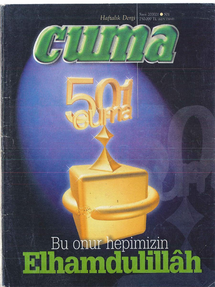 1. Cilt 501. Sayı