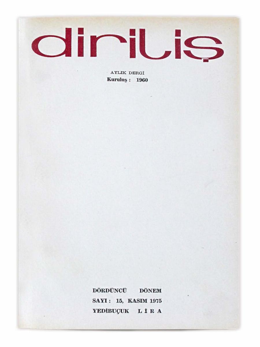 4. Cilt 15. Sayı